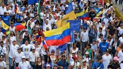La 'gran toma de Caracas'