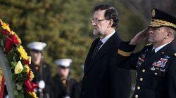 Rajoy honra a los soldados caídos por