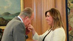 Don Juan Carlos pidió a Díaz que fuera la líder del PSOE, según 'El