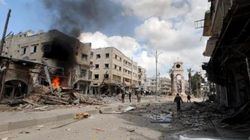 Al menos 28 muertos en un bombardeo contra un campo de desplazados en