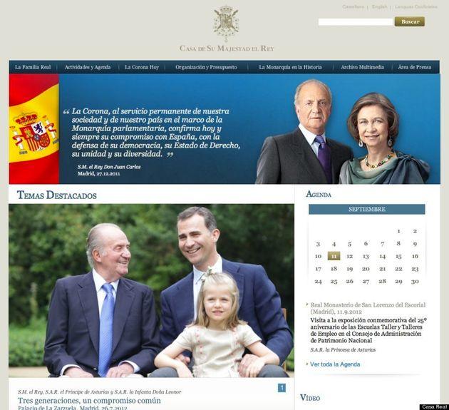 De Juan Carlos a Felipe y a Leonor: Lo que quiere decirnos la Casa Real con su nueva web