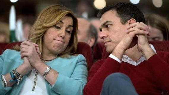 Los apoyos a Susana Díaz empiezan a