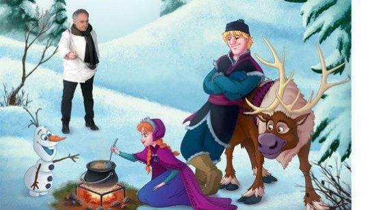 Cocina la tortilla de Mickey Mouse y el fricandó de Elsa y Anna con Ferran Adrià
