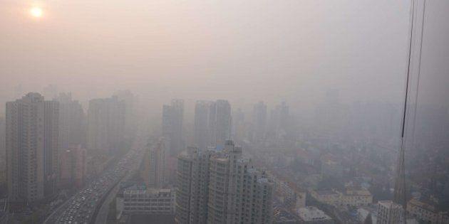 Shanghái contaminado: La polución en la ciudad alcanza niveles de extrema gravedad