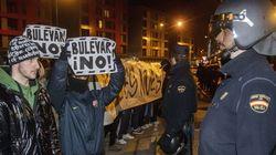 Quinta jornada de protestas en Burgos tras una noche de movilización
