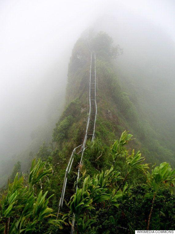 Haiku Stairs: las escaleras al cielo de Hawai que pronto podrías recorrer sin que sea ilegal