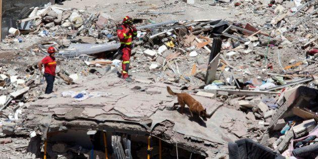Identificadas cuatro de las siete personas fallecidas tras el derrumbe de