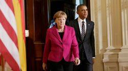 Merkel apuesta por la vía diplomática en Ucrania y Obama ofrece