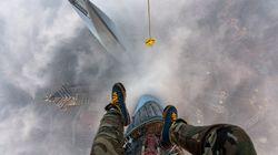 Escalan clandestinamente el segundo rascacielos más alto