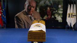Muerte de Alfredo Di Stéfano: Miles de personas acuden a visitar su capilla ardiente