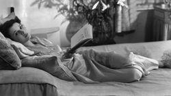 Famosos y sus libros en blanco y negro: el 'glamour' de