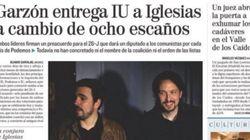 La viral respuesta de Garzón a esta portada de 'El