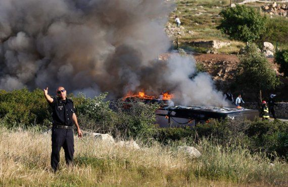 La explosión en un autobús en Jerusalén deja al menos 21