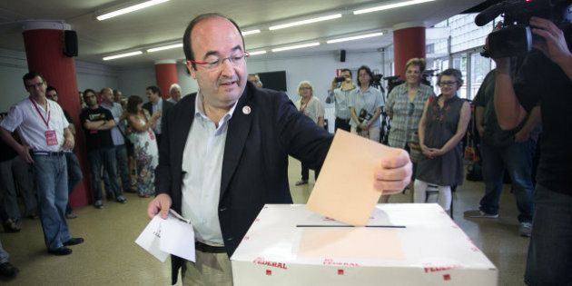 Iceta, nuevo líder del PSC con menos del 50% de