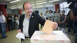 Iceta, elegido nuevo líder del PSC con cerca del 50% de