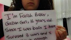 Farah Baker, la niña palestina que tuitea los bombardeos sobre