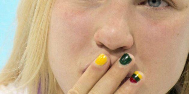 Las uñas de las Olimpiadas: las atletas de Londres 2012 locas por las manicuras patrióticas