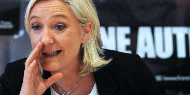 El Frente Nacional de Le Pen, segunda fuerza política de cara a las europeas, según un