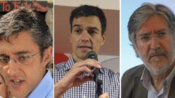 Los proyectos de Madina, Sánchez y Pérez Tapias para liderar el