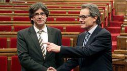 Artur Mas renuncia a su acta de diputado en el