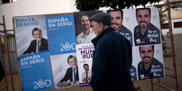 Carteles electorales del 20-D: esto dicen de los candidatos (FOTOS