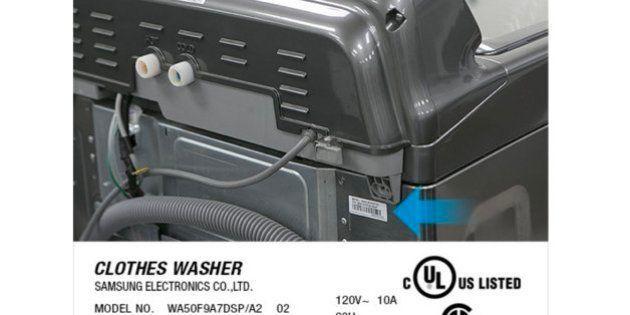 Samsung investiga problemas de seguridad en algunos modelos de lavadora que pueden