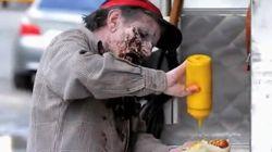 'Experimento zombi' en Nueva York: susto, grito, promoción