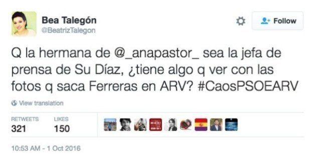 La respuesta de Ana Pastor a esta insinuación de Beatriz