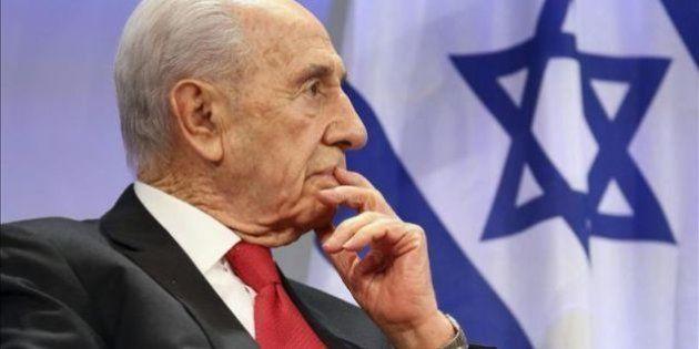 El expresidente israelí Simón Peres, intervenido de urgencia de
