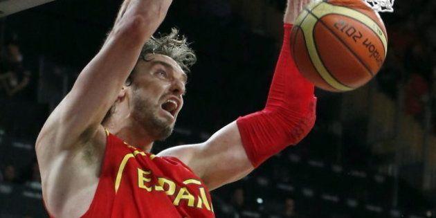 Juegos Londres 2012: España se crece ante Australia