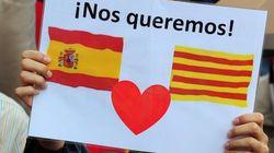 Miles personas se manifiestan en Barcelona contra la