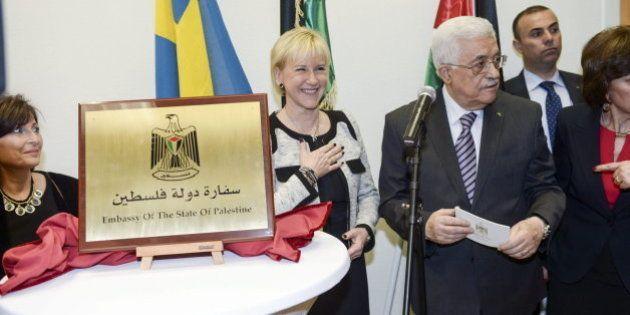 Palestina abre su Embajada en la capital de Suecia,
