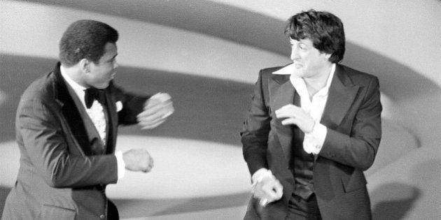 El bonito homenaje de Sylvester Stallone a Muhammad Ali en su cuenta de
