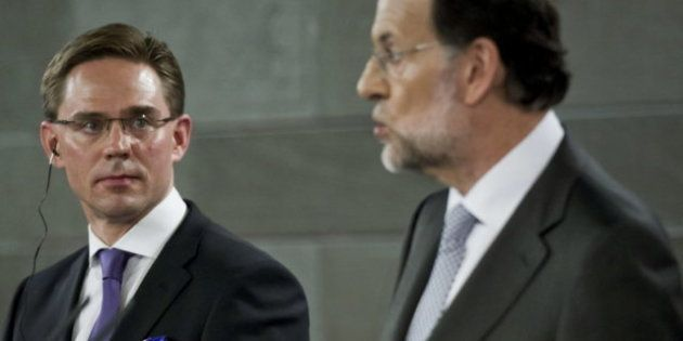 Katainen a Rajoy: