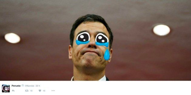 Twitter se toma con humor la dimisión de Pedro