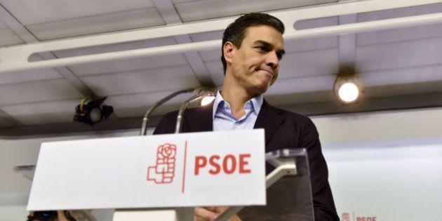 El PSOE se quema a lo
