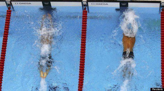 Juegos Londres 2012: Por una brazada Phelps se queda sin el oro en estilo