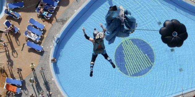 Dos heridos en una competición de salto homenaje a Darío Barrio y Álvaro