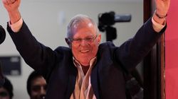 Kuczynski gana por un estrecho margen a Fujimori en Perú con el 90%