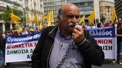 Grecia se echa a la calle contra los