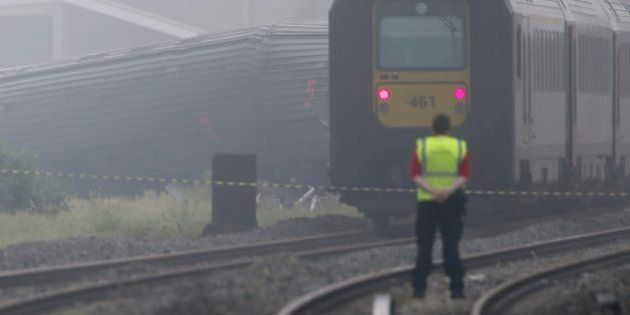 Al menos tres muertos y 40 heridos al chocar dos trenes en