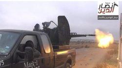 Así acabó la furgoneta de un fontanero en manos de extremistas