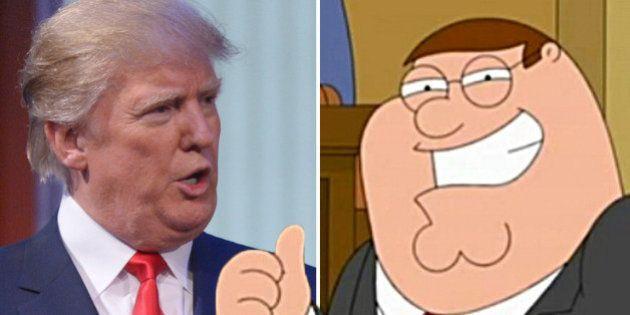 ¿Quién ha dicho estas frases? ¿Donald Trump o Peter Griffin de 'Padre de Familia'?