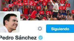 Pedro Sánchez cambia su bio de Twitter y le llueven las
