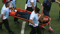 La lesión del fisio de Inglaterra y otras imágenes curiosas del Mundial
