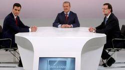 Desgaste del bipartidismo en la 'tele': Rajoy-Rubalcaba gana a