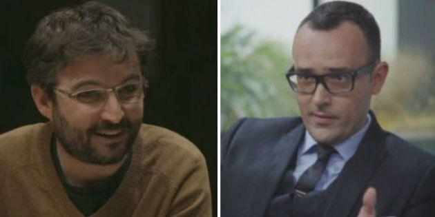 Risto Mejide y Jordi Évole 'se pican' en Twitter por culpa del debate: ¿Quién