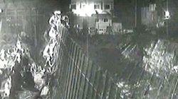 Un impactante vídeo muestra el masivo asalto de inmigrantes a la valla de