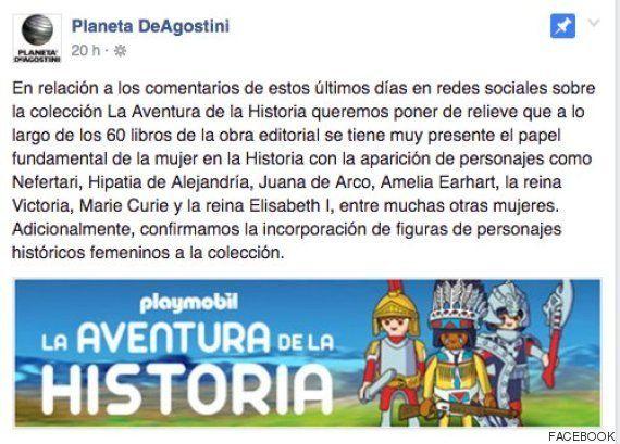 Planeta DeAgostini rectifica e incluirá mujeres en su colección de