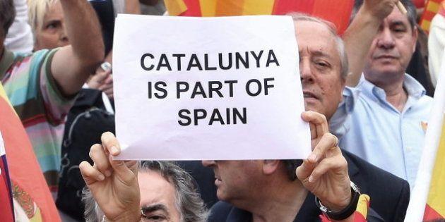 La Generalitat catalana acusa al Gobierno de partidista por las cifras de la manifestación por la unidad...
